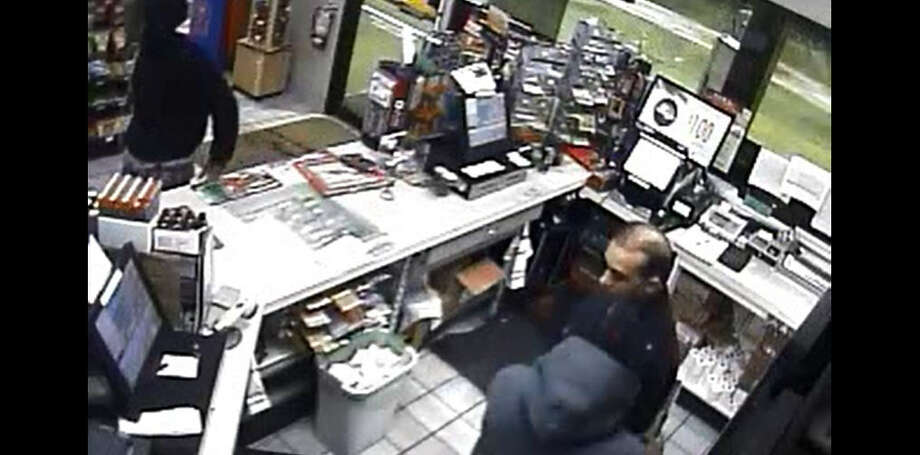 Sugar Land police are looking for two men who robbed a Shell gas station, 1750 Williams Trace Blvd., on Dec. 22. Photo: Sugar Land Police