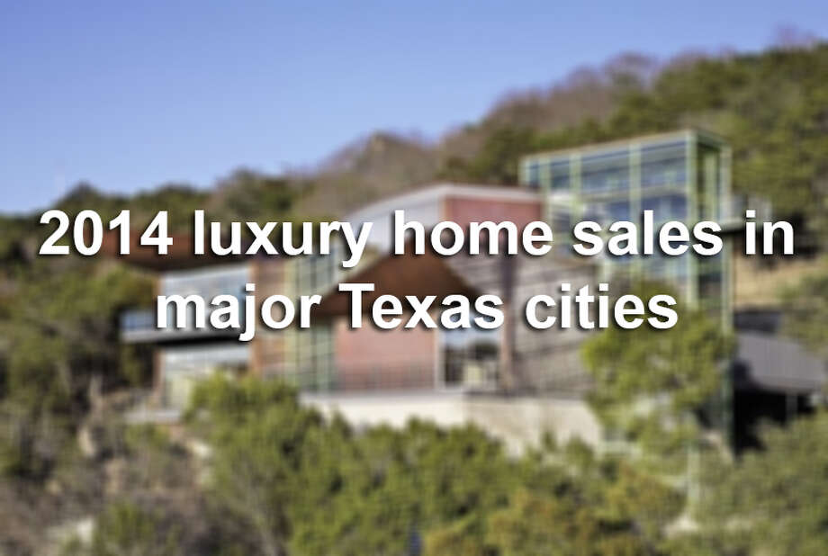 Click through to see the state of the luxury home market in Texas' biggest cities. Photo: SAEN