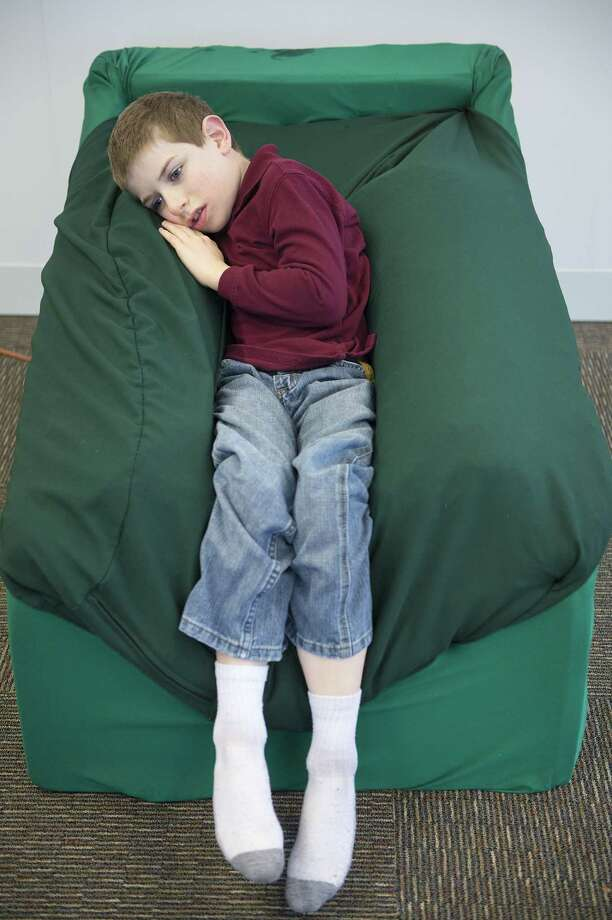Students design chairs to calm autistic kids - Houston ...