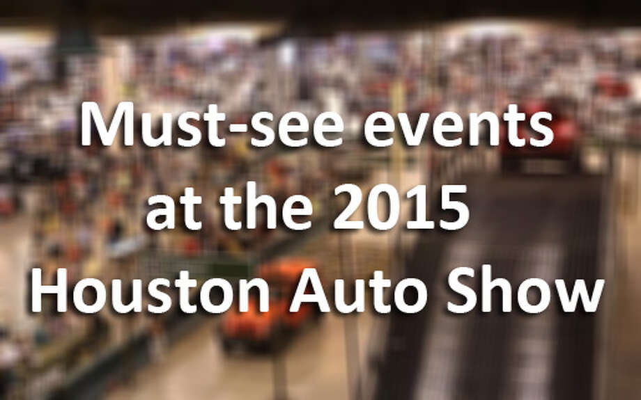 The 2015 Houston Auto Show runs Jan. 21-25 at NRG Center. Tickets are $12 for adults, $5 for kids. Photo: .