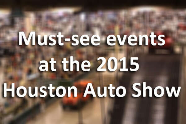 The 2015 Houston Auto Show runs Jan. 21-25 at NRG Center. Tickets are $12 for adults, $5 for kids. Coupons for $2 off are available online and at participating area dealerships.