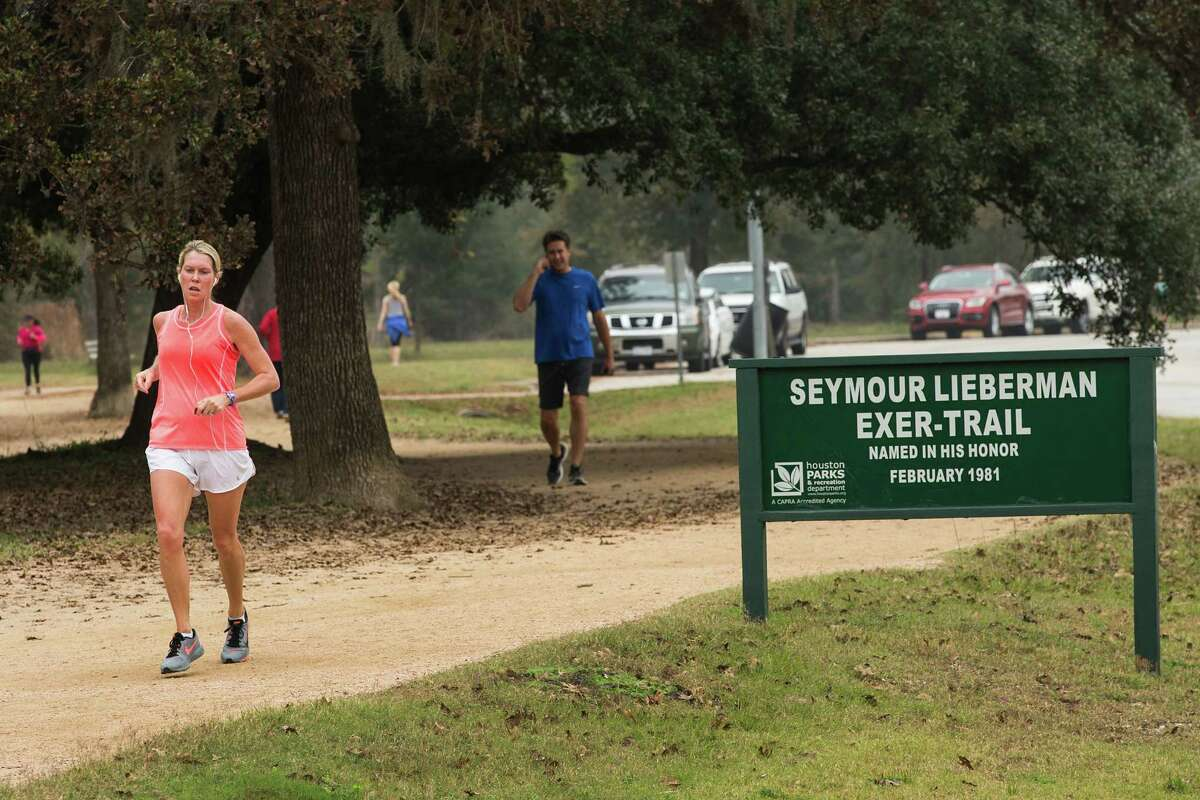 The Seymour Lieberman Exer-Trail at Memorial Park is the most-used exercise trail in Houston.