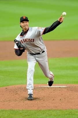 Bay Area native Randy Johnson recorded his 300th major-league win in Washington while pitching for the Giants on June 4, 2009.