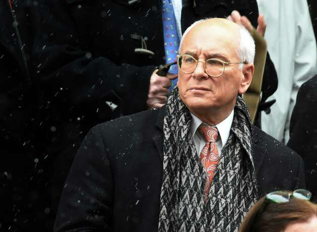 Congressman Paul Tonko leaves the church after the funeral service of former Gov. Mario M. Cuomo at St. Ignatius Loyola Church Tuesday afternoon Jan. 6, 2015 in New York City, N.Y.       (Skip Dickstein/Times Union) Photo: SKIP DICKSTEIN / 00030083A