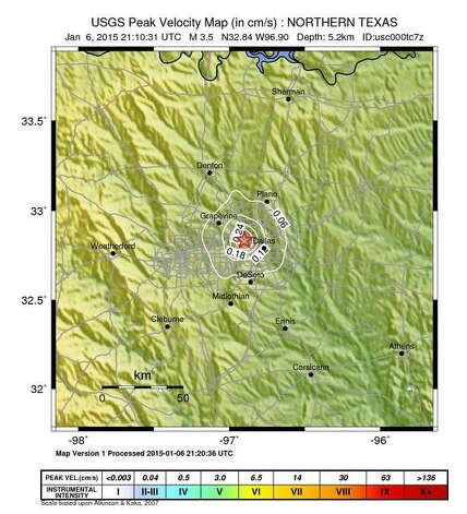 35 magnitude earthquake rattles dallas newstimes