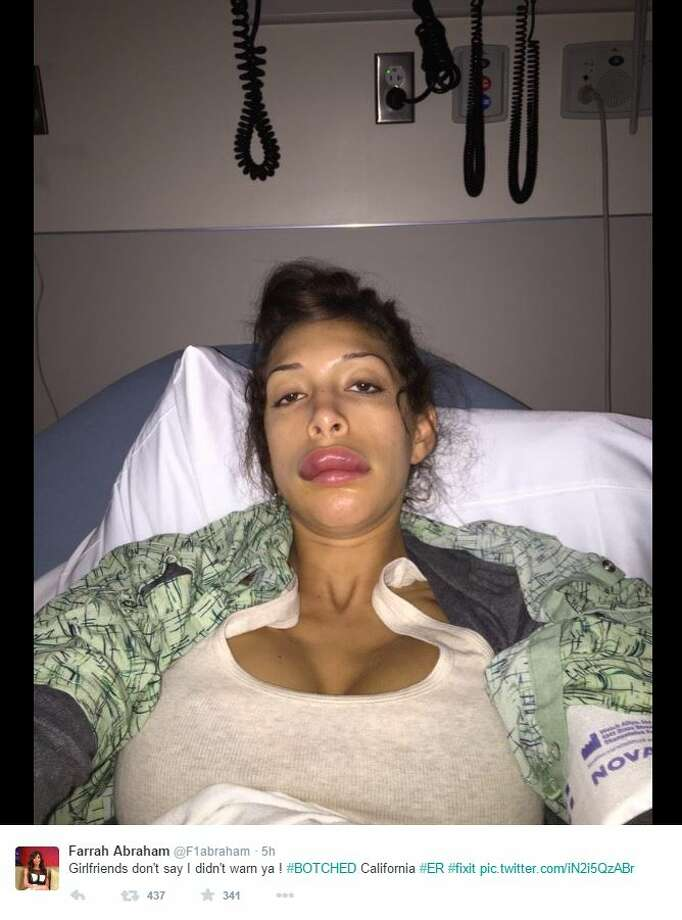 Farrah Abraham May Face Charges After Slinging Champagne Glass, Hitting Celebrity In -8807