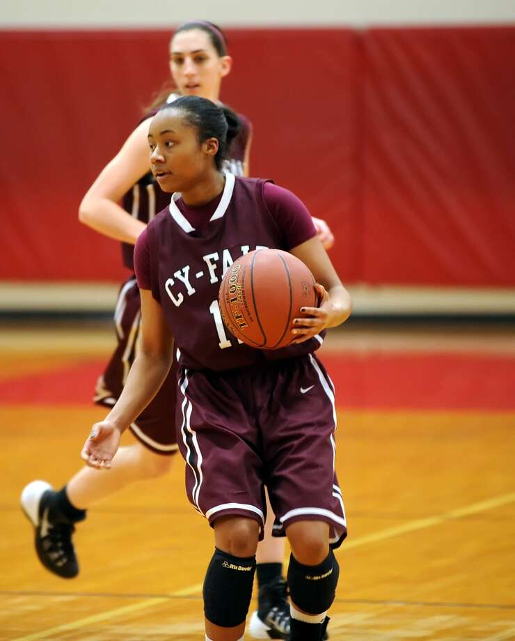 Cy Fair's Taylor McCowin and the Bobcats play Cy Lakes Friday. Photo: Eddy Matchette, Freelance / Freelance