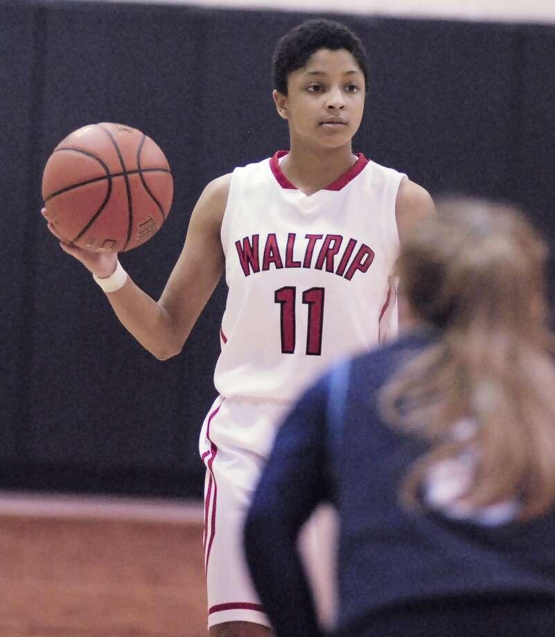 Destiny Nolley is one of the key returnees for the Waltrip squad this season. Photo: Â Tony Bullard 2014, Freelance Photographer / © Tony Bullard & the Houston Chronicle