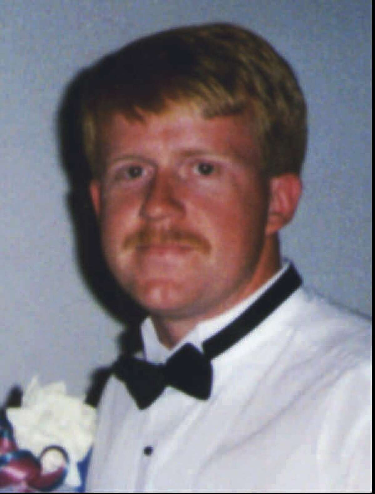 Seattle firefighter James Brown is seen in this August 1994 wedding photo. He was killed in the Jan. 5, 1995, fire at the Pang warehouse in the International District.