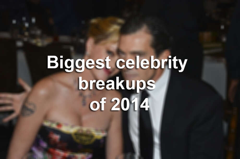 See which celebrity couples called it quits this year. Photo: File