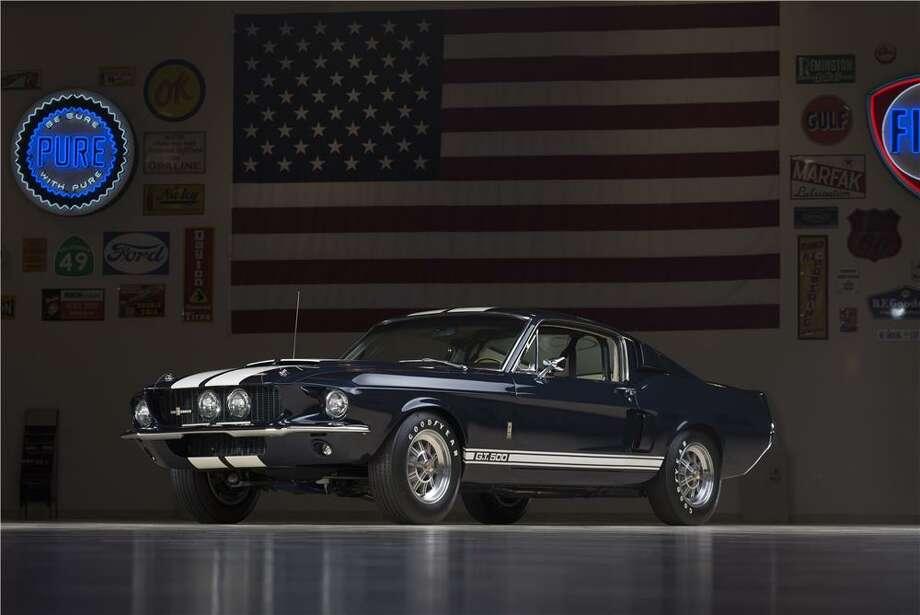 1967 Shelby GT500 FastbackLot 2512 features the first year of the big block Shelby Mustang, in 1967.  It opened the path for Carroll Shelby to take the whole concept a big step further by offering a 428cid dual-quad big block.