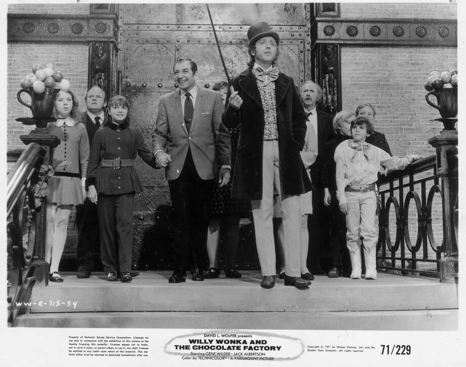 "Gene Wilder, center, stars in ""Willy Wonka and the Chocolate Factory."" / handout"