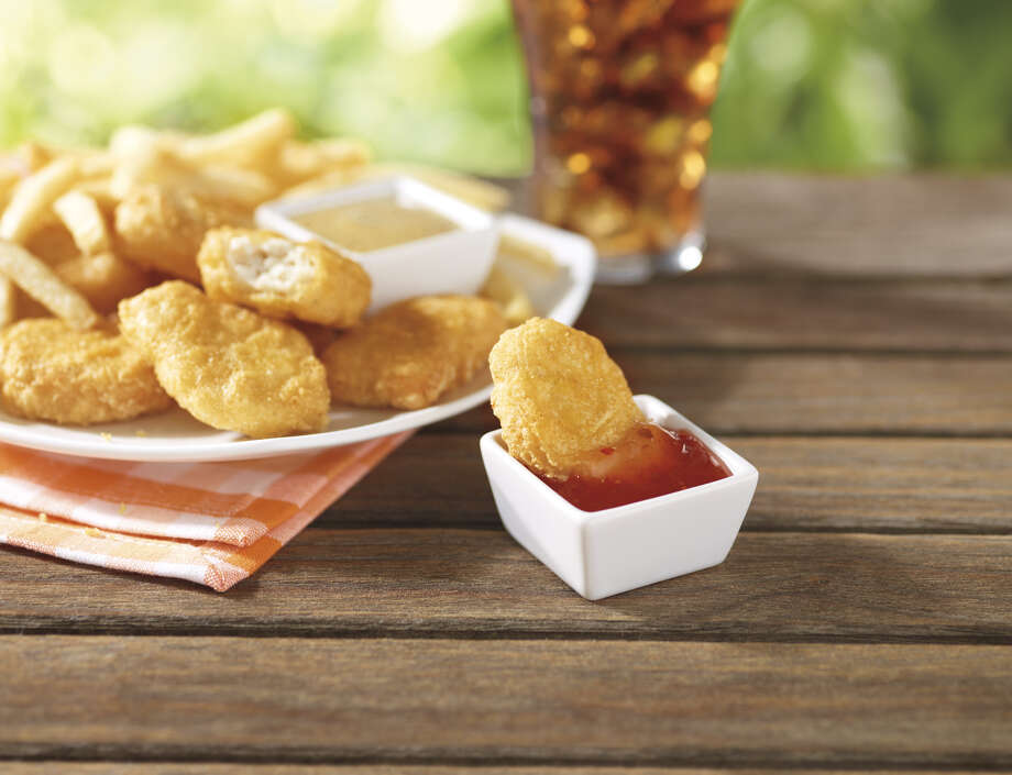 McDonald's Chicken McNuggets come with a choice of dipping sauces. Photo: -- / Unlimited