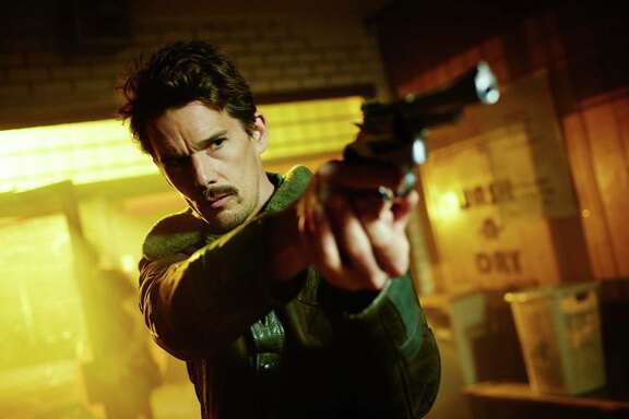 """Ethan Hawke stars as a time-traveling agent on the trail of a notorious criminal in """"Predestination."""""""