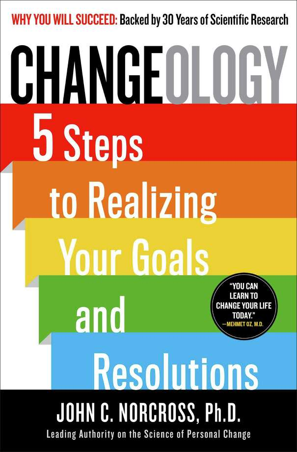 "Looking for a book that might help you stick to those New Year's resolutions? ""Changeology: 5 Steps to Realizing your Goals and Resolutions,î by John C. Norcross, offers ""a revolutionary approach to personal improvement,"" says Greenwich Library's Kate Petrov. Photo: Contributed Photo / Greenwich Time Contributed"