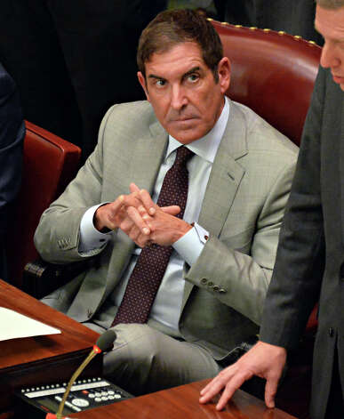 Independent Democratic Conference (IDC) leader Sen. Jeffery Klein during the NYS Senate first meeting of the new year Wednesday Jan. 7, 2015, in Albany, NY.  (John Carl D'Annibale / Times Union) Photo: John Carl D'Annibale, Albany Times Union / 00030091A