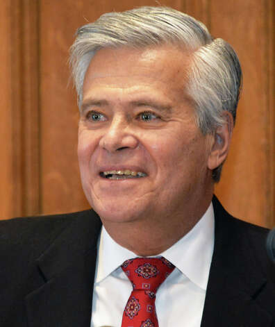 NYS Senate GOP leader Dean Skelos speaks to supporters during a swearing-in ceremony at the Capitol Wednesday Jan. 7, 2015, in Albany, NY.  (John Carl D'Annibale / Times Union) Photo: John Carl D'Annibale, Albany Times Union / 00030091B