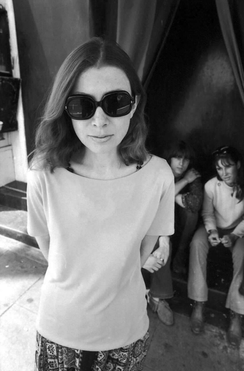Author Joan Didion in 1968. French fashion house Celine has named Didion, 80, the new face of the brand.