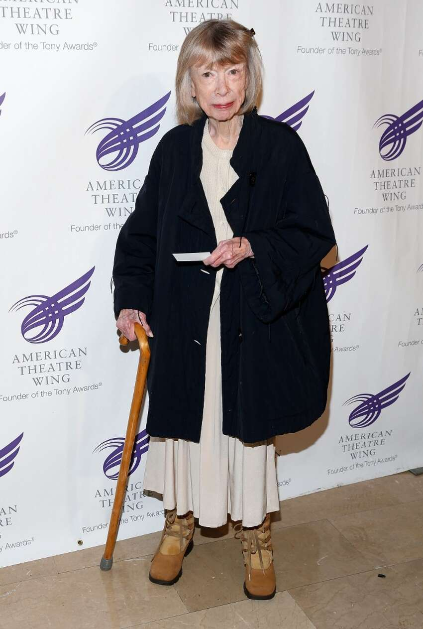 Literary icon Joan Didion seen in 2012. Didion was born in 1934.