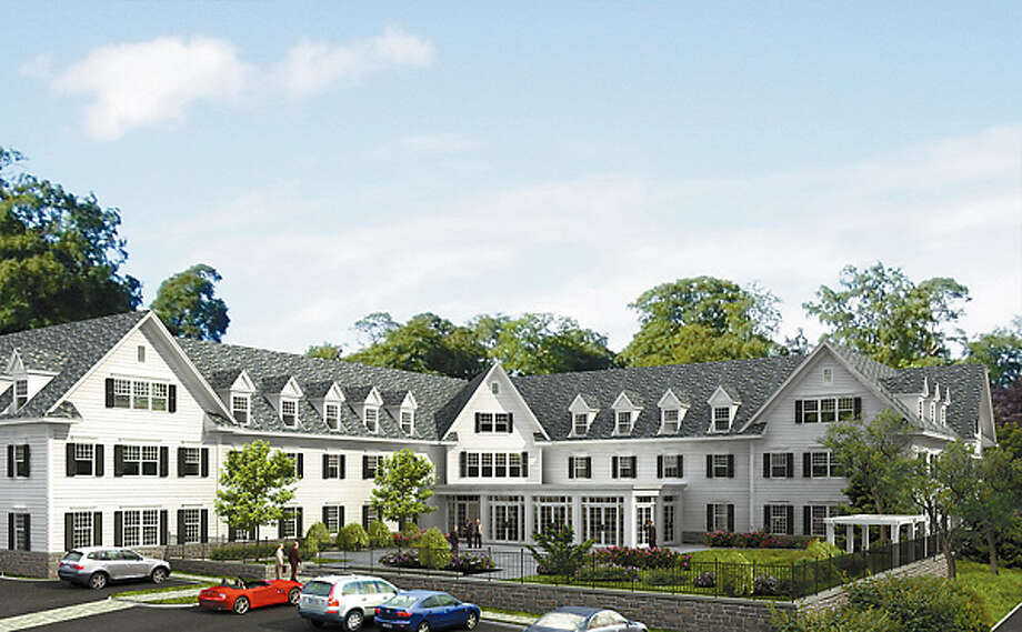 A 48-room extended-stay hotel proposed by developer Steve Zemo to be built in Ridgefield, Conn. Credit: Scott Yates, H&R Design Photo: Contributed Photo / The News-Times Contributed