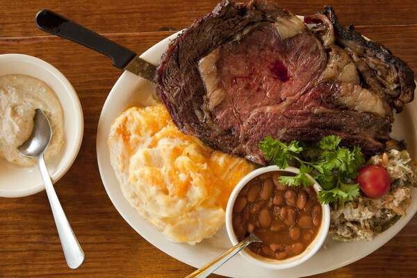 Prime rib from The Salt Lick cookbook