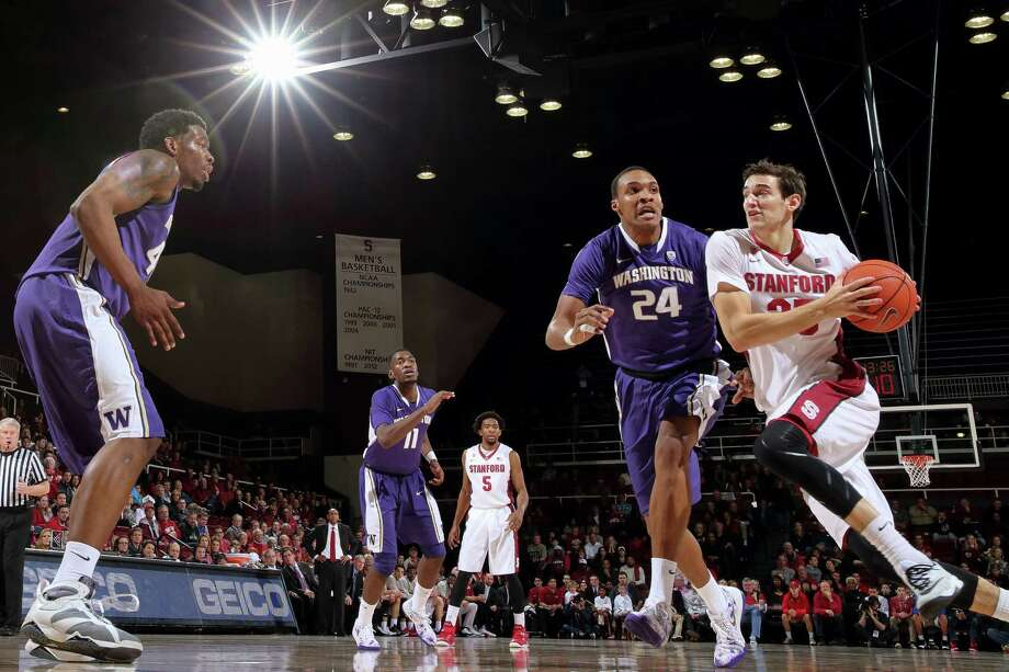 Stanford forward Rosco Allen had eight points and 10 rebound in the Cardinal's 68-60 overtime win over then-No. 21 Washington on Sunday. Photo: Bob Drebin / Bob Drebin / Stanfordphoto.com / stanfordphoto.com
