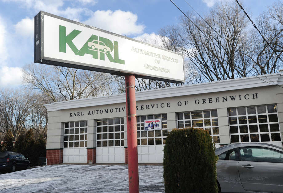 Karl Automotive Service of Greenwich at 1330 E. Putnam Ave. in the Old Greenwich section of Greenwich, Conn., Wednesday, Jan. 7, 2015. After more than 15 years in business, Karl Automotive Service of Greenwich is closing on Saturday. Photo: Bob Luckey / Greenwich Time