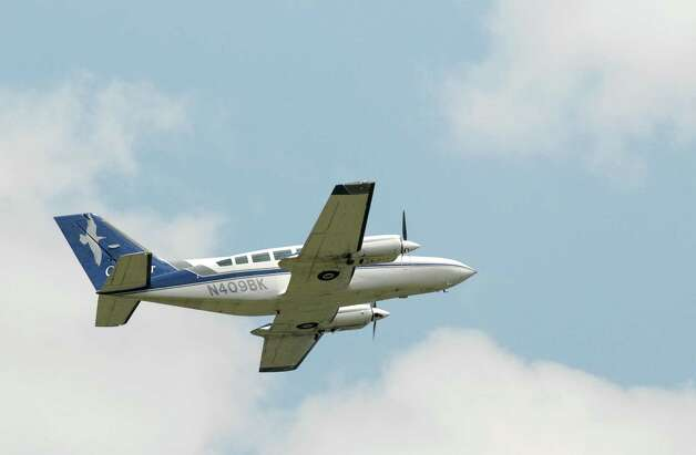 A Cape Air Cesna takes off from Albany International Airport Monday, July 19, 2010, in Colonie, N.Y. Cape Air will continue to fly from Massena to Albany and Boston for another two years, and from Ogdensburg to Albany and Boston for another four years, after the U.S. Department of Transportation renewed their contracts under the Essential Air Service program. (Will Waldron / Times Union archive)