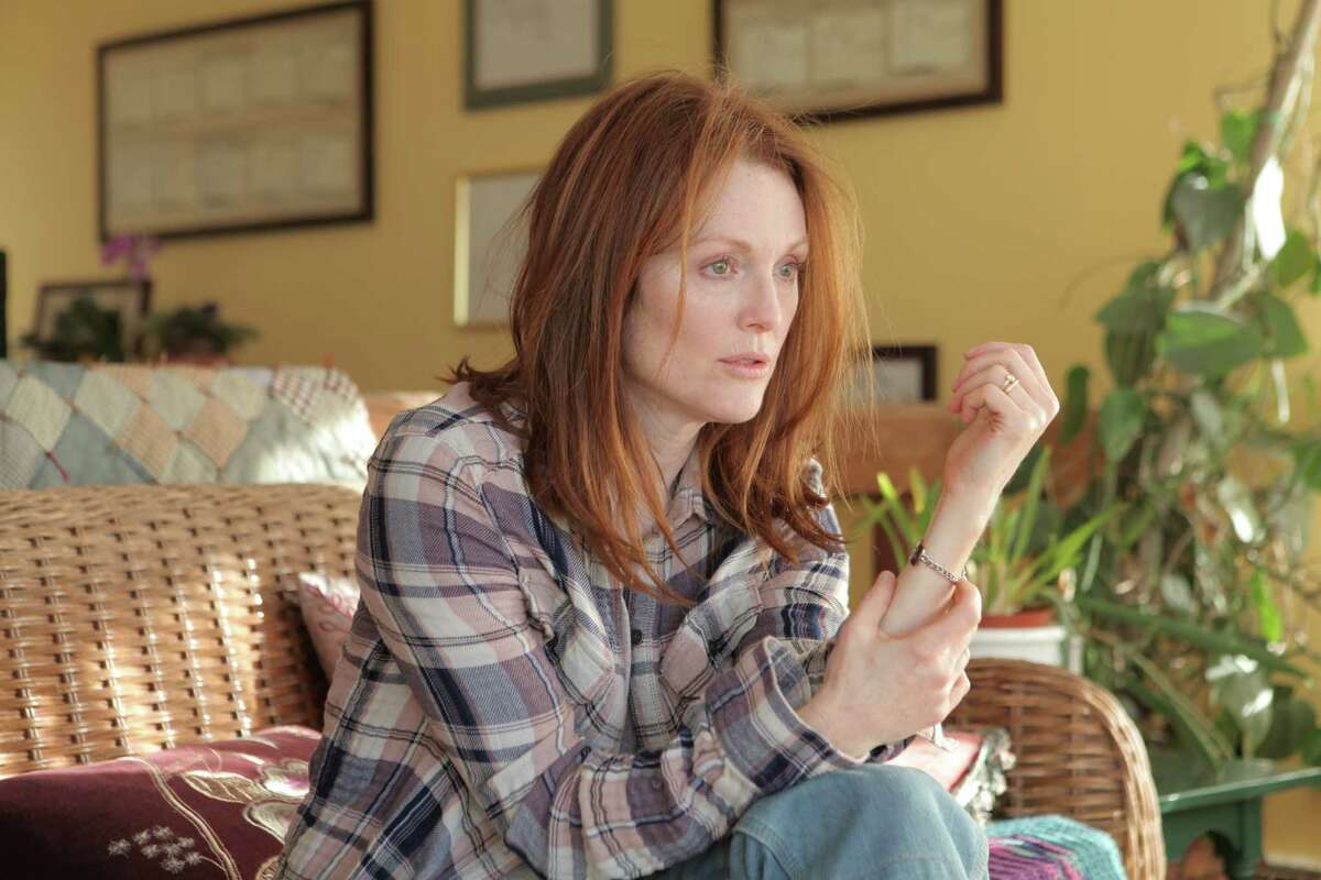 Julianne Moore's portrayal of a woman with early-onset Alzheimer's earned a best actress nomination for