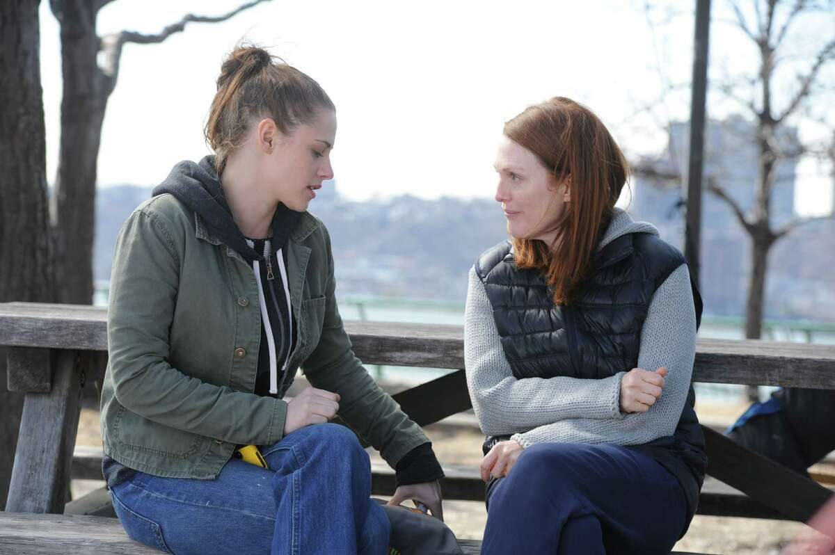 Lydia (Kristen Stewart) and her mother Alice (Julianne Moore) cope with a health crisis in