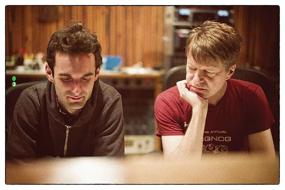 """Julian Lage (left) on his first musical encounter with Nels Cline: """"There was something so incredibly timeless and ageless and just welcoming for me."""" Photo: Sean Lennon / ONLINE_YES"""