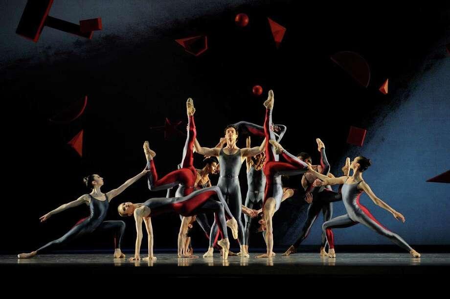 "Members of the San Francisco Ballet dance Alexei Ratmansky's ""Shostakovich Trilogy,"" featured in Program 6 of the company's 2015 season. Photo: Erik Tomasson / ONLINE_YES"