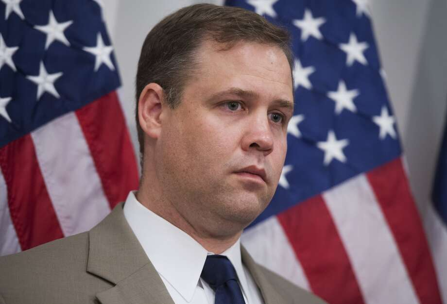 UNITED STATES - MAY 21: Rep. Jim Bridenstine, R-Okla., attends a news conference in the Capitol where he and others primarily expressed support for victims of the Oklahoma tornado. (Photo By Tom Williams/CQ Roll Call) Photo: Tom Williams, CQ Roll Call, Getty Images