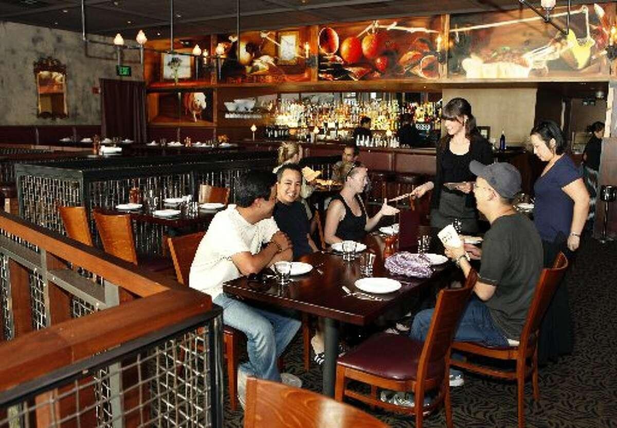 The dining room at Zero Zero