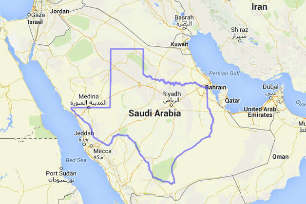 Texas could ease up on fracking and do some old-fashioned oil drilling in Saudi Arabia. Photo: MAPfrappe/Google Maps