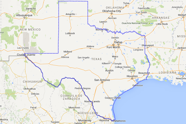 Just How Big Is Texas Map Compares To Other Countries