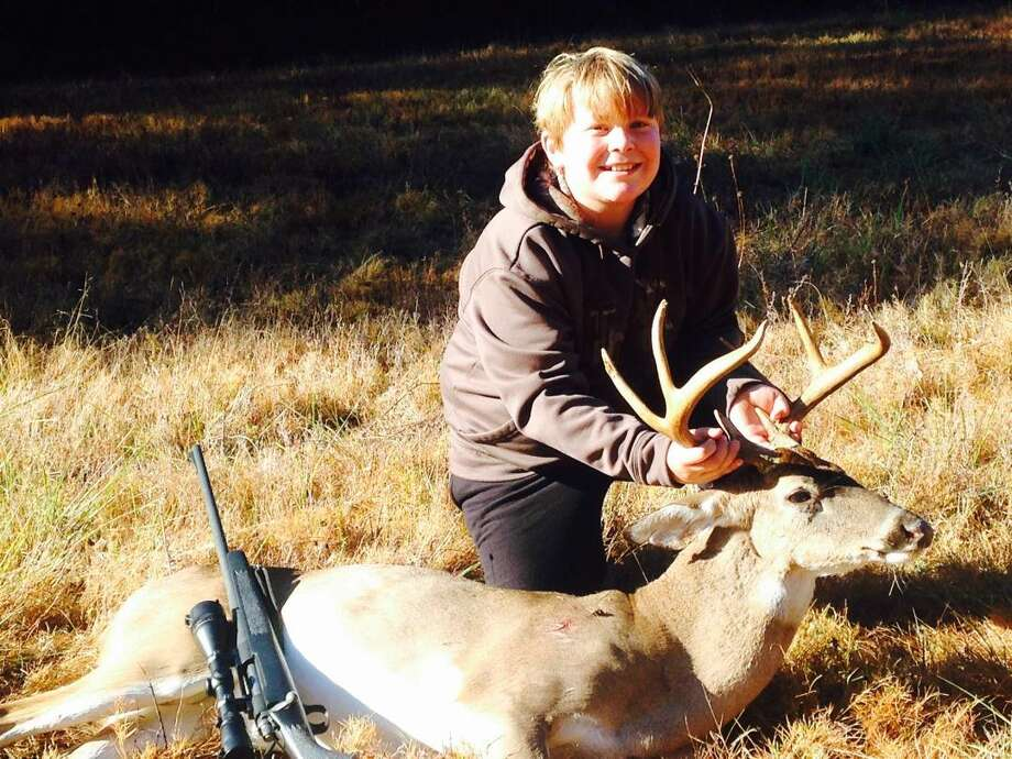 """""""Cole Brown of Sour Lake shot his first buck Nov. 26th, in Wiergate, Texas."""" Submitted by Ky Brown."""