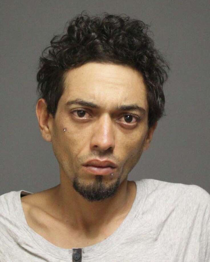 Pedro A. Bruno, 32, of Bridgeport, was arrested Wednesday for allegedly breaking into a home and brandishing a gun. Photo: Contributed Photo / Fairfield Citizen