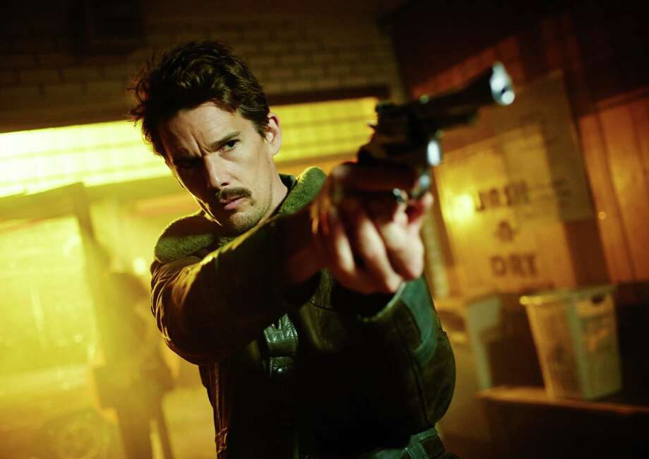 """Ethan Hawke in the overly complex """"Predestination."""" Photo: BEN KING PHOTOGRAPHER / Ben King"""