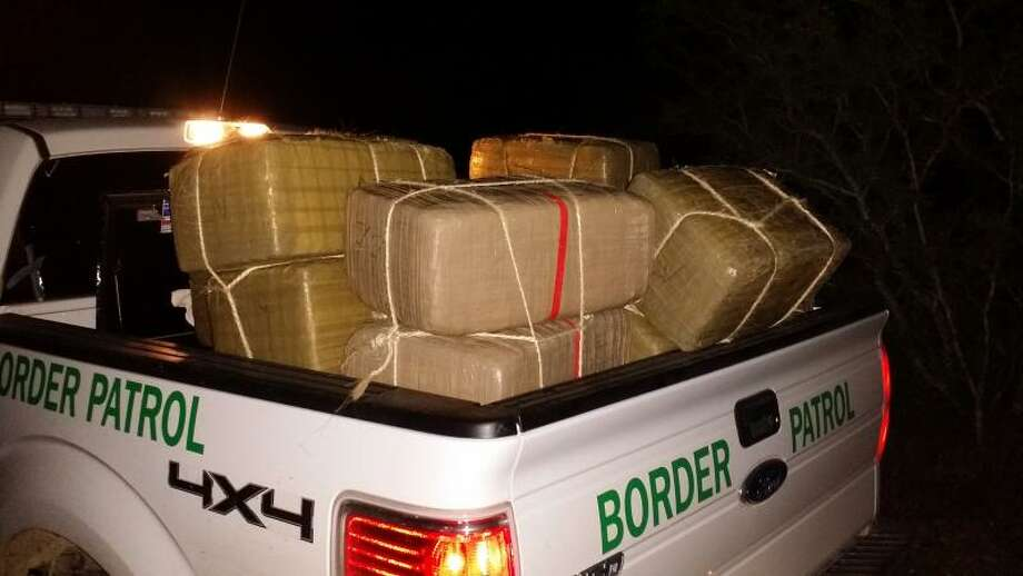 Two busts yielding 1,396 pounds of marijuana — valued at $1.1 million — occurred Jan. 7, 2015, when agents with the Rio Grande Valley Sector allegedly found smugglers stashing the drugs and transporting them with a truck in separate incidents near Edinburg, according to a news release. Photo: U.S. Customs And Border Protection