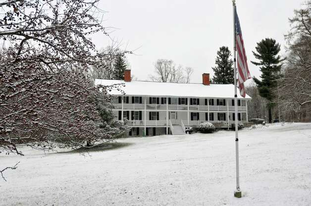A view of the home of Carol Orvis, which was once part of the Greenbush Cantonment military barracks.  Photograph taken on Tuesday, Dec. 10, 2013 in East Greenbush, NY.    (Paul Buckowski / Times Union) Photo: PAUL BUCKOWSKI / adv_unknownsoldier