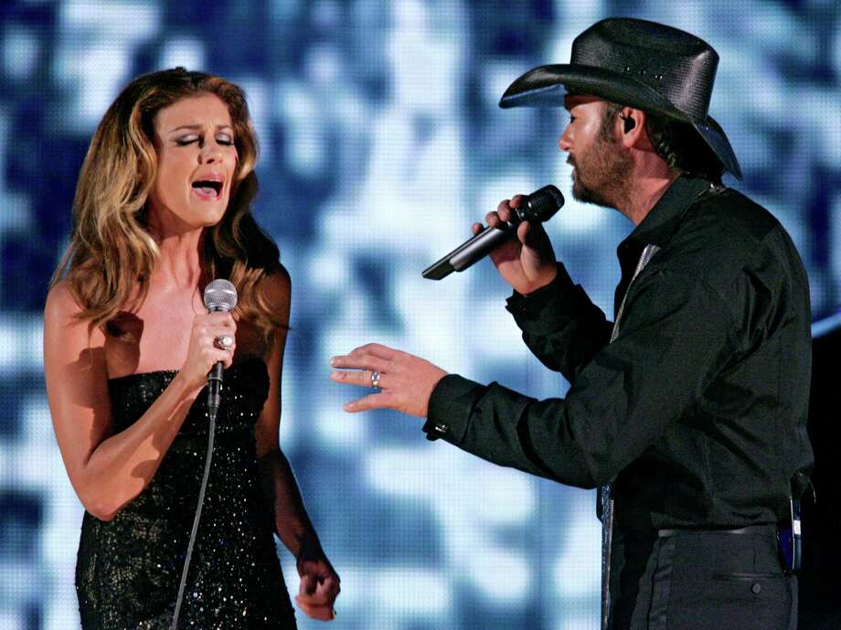 """Tim McGraw featuring Faith Hill, """"Meanwhile Back at Mama's"""" Photo: JULIE JACOBSON /AP / AP"""