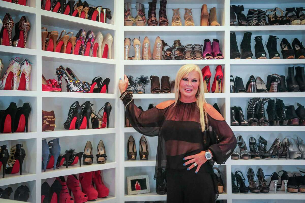 Houston: The Woodlands Theresa Roemer has a three-story, 3,000-square-foot closet in her home. Estimated value? $500,000.
