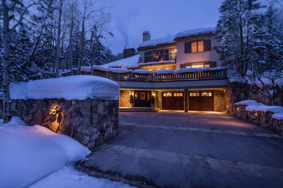 President Gerald Ford's ski retreat is home 7 bedrooms and a 11 bathrooms. The Bavarian-style mountain manor also includes fireplaces, cathedral ceilings, and native stone and polished granite around a presidential seal in the entryway.Source: Top Ten Real Estate Deals Photo: Scott Cramer, Courtesy Of Top Ten Real Estate Deals / ©Scott Cramer Photography