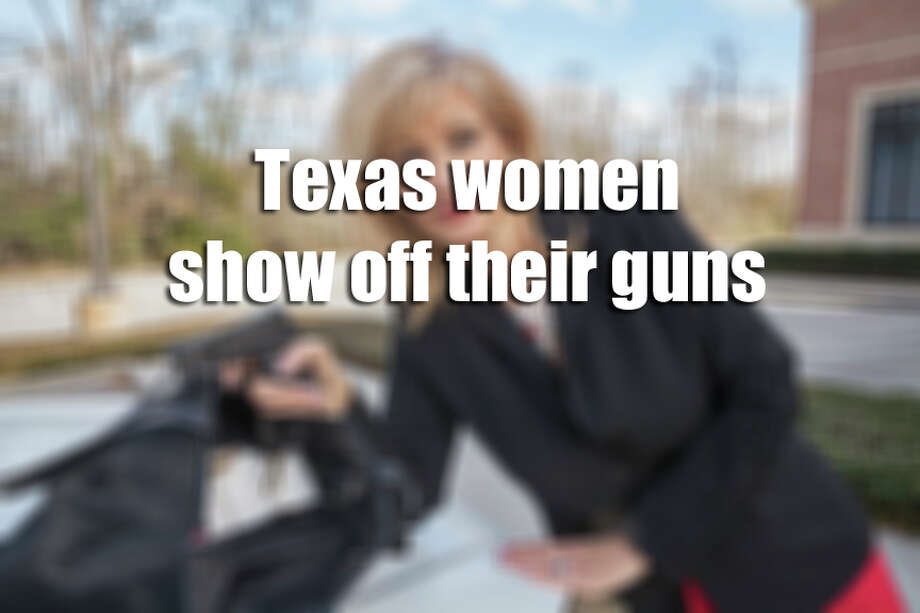 """Texas women show off their gunsHouston photographer Shelley Calton sought to photograph Texas women with some of their most prized possessions, the handguns they use for personal protection in public and in their inner sanctums. They were captured Kerrville, Austin, San Antonio, League City, and Conroe. Some live in the Heights and Montrose neighborhoods in Houston. Calton found 80 women for her photo series, titled """"Concealed, She's Got a Gun."""" She began the project in 2011 after a friend was getting her hair done at a West Gray salon and a fellow patron's handgun went off in her purse."""