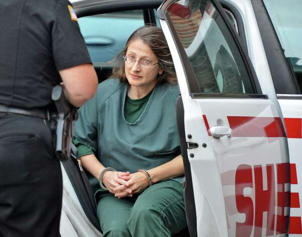 Lydia Ann Salce arrives at Saratoga County Courthouse in Ballston Spa Friday Aug. 31, 2012, to be sentenced for attempted murder.  (John Carl D'Annibale / Times Union archive) Photo: John Carl D'Annibale / 00019079A