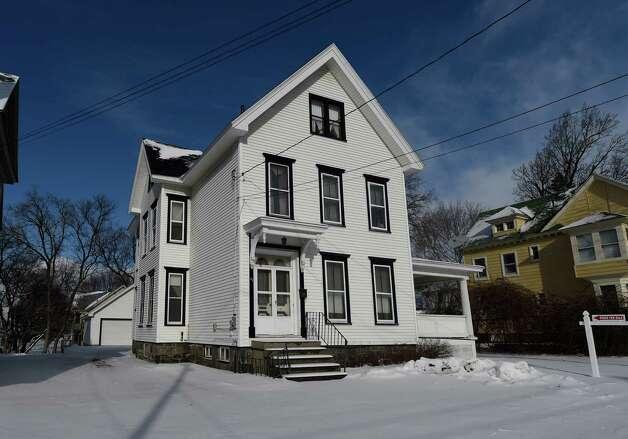 Exterior view of 51 1st Avenue Wednesday afternoon Jan. 7, 2015 in Gloversville, N.Y.        (Skip Dickstein/Times Union) Photo: SKIP DICKSTEIN / 00030105A