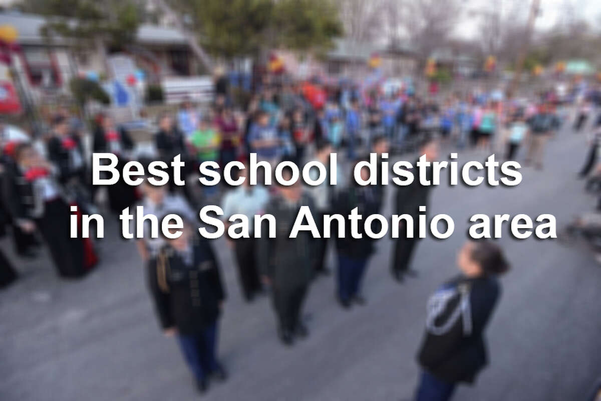 National education analyst group Niche ranked 54 school districts in San Antonio, Bexar County and surrounding areas based on a number of factors including academics, health and safety, resources and facilities, educational outcomes and extracurriculars. Scroll through to see where your child's school district ranked for 2016.
