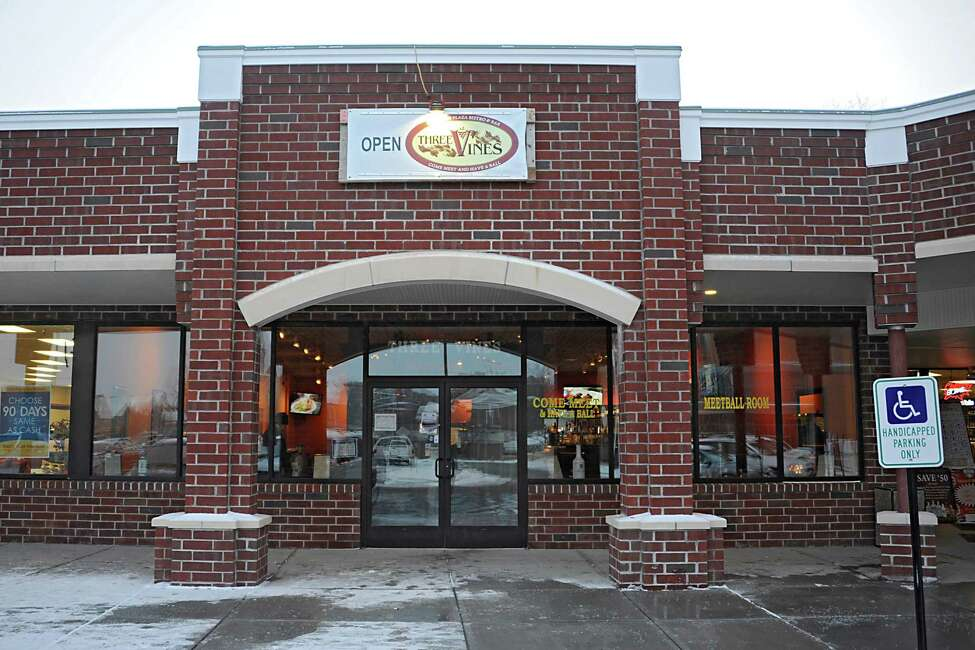 Exterior of Three Vines Bistro on Tuesday, Jan. 6, 2015 in Saratoga Springs, N.Y. (Lori Van Buren / Times Union)