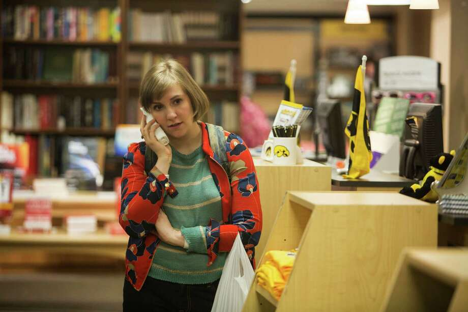 """This photo released by HBO shows, Lena Dunham, in a scene from season 4 of """"Girls."""" (AP Photo/HBO, Craig Blankenhorn ) Photo: Craig Blankenhorn,  HONS / Associated Press / HBO"""